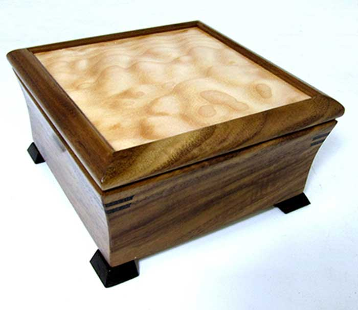 Featured Artist: Mikutowski Woodworking - Resplendent Jewelry Chest | Rendezvous Gallery